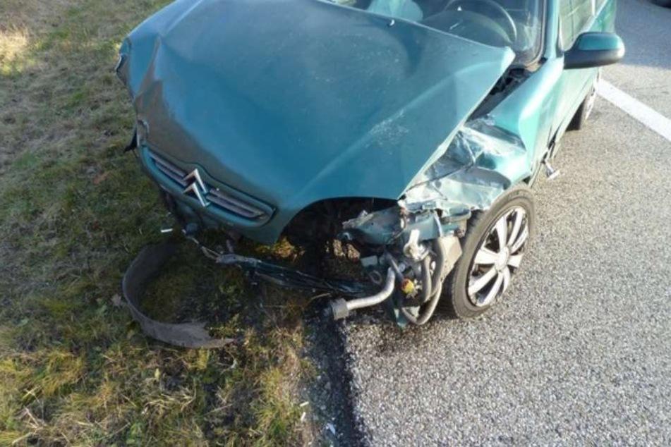 Mehr als zu Blechschaden kam es bei dem Unfall nicht.