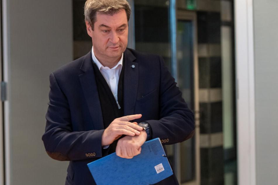 Markus Söder hat sich hinsichtlich der aktuellen Probleme geäußert.