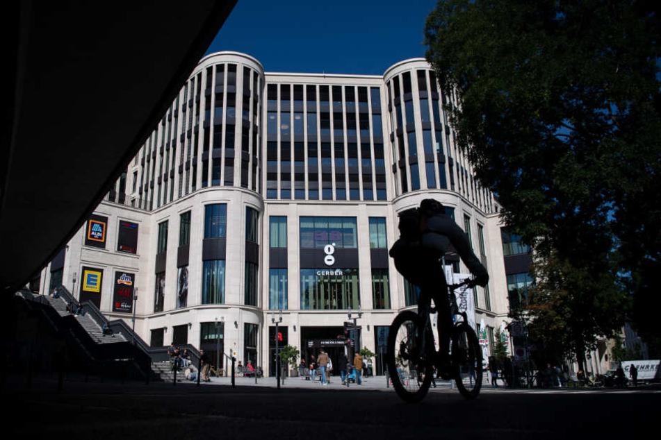 Shopping-Center Gerber in der Stuttgarter Innenstadt.