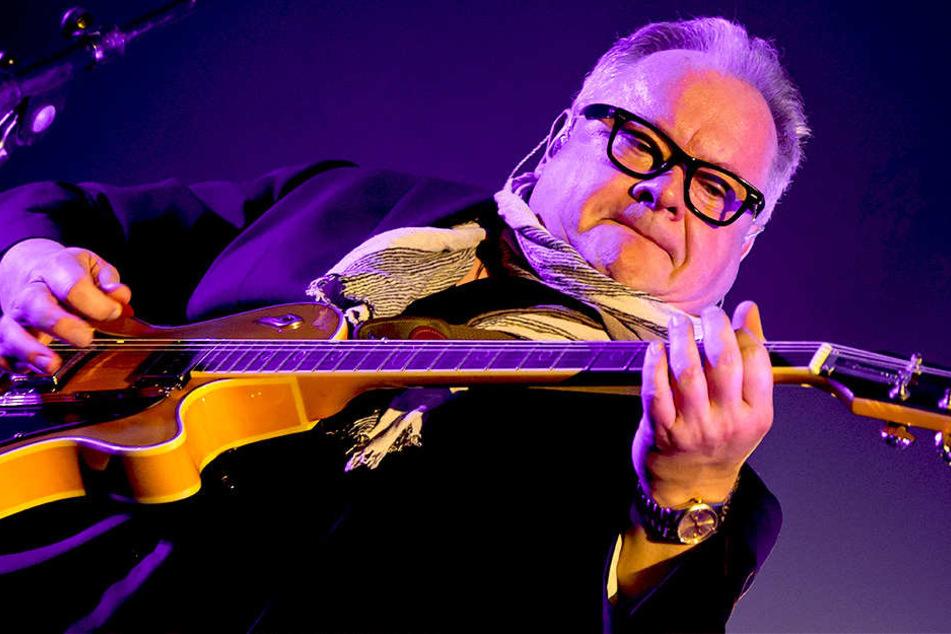 Heinz Rudolf Kunze (61) bei einem Konzert in Berlin 2016.