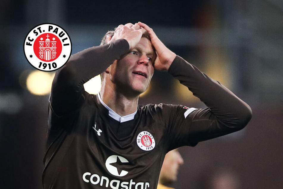 FC St. Pauli: Chancenwucher treibt Trainer und Spieler in den Wahnsinn