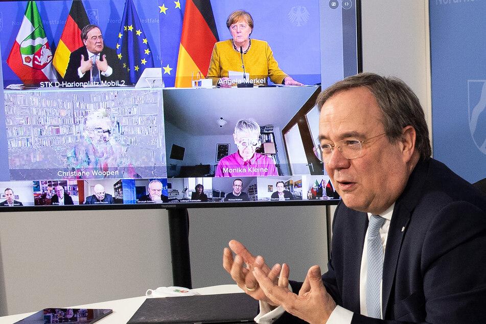 """NRW-Expertenrat bespricht Corona-Kurs mit Merkel: """"Es gilt weiter, vorsichtig zu sein"""""""