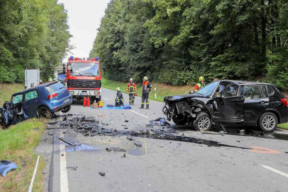 Bei Tittling im Landkreis Passau kam es zu einem schrecklichen Unfall.