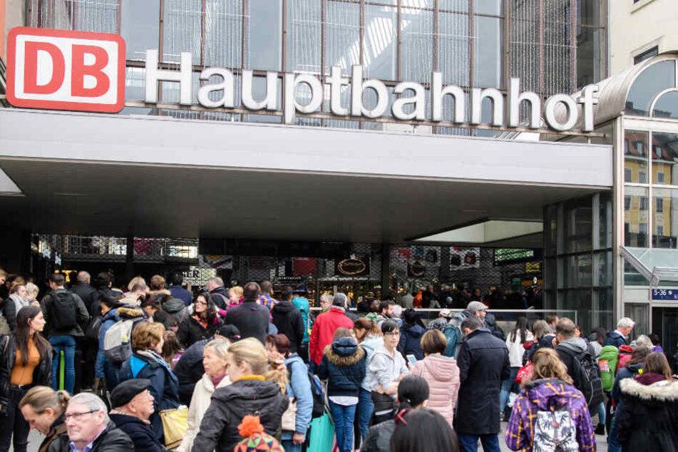 Am Münchner Hauptbahnhof ist es zu einem erschreckenden Zwischenfall gekommen.