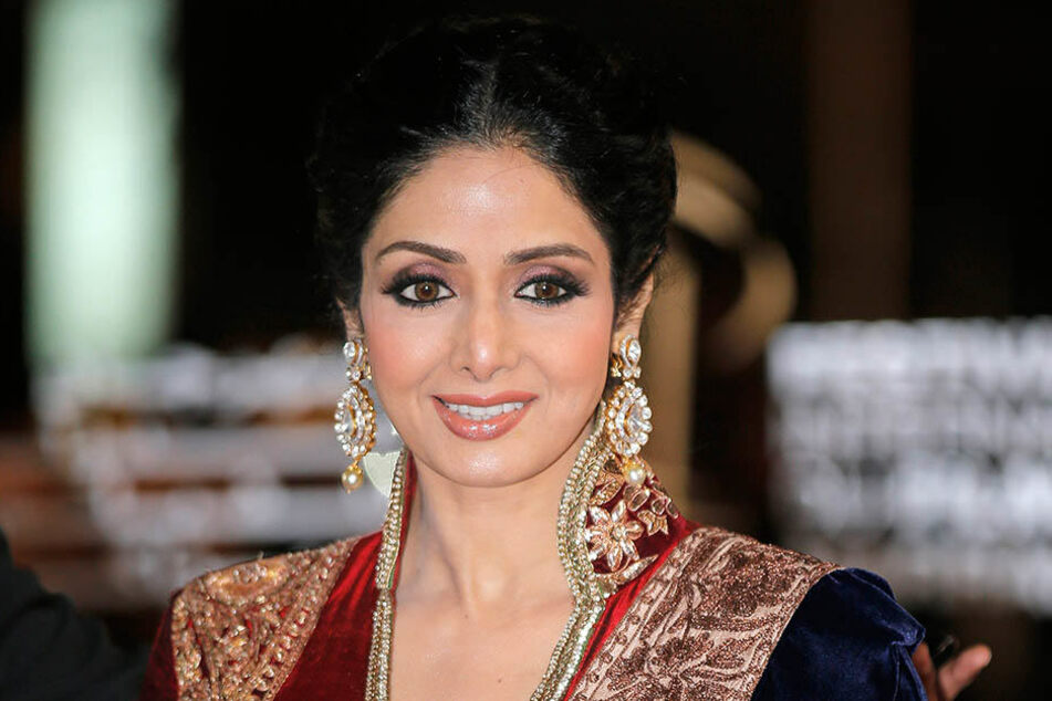 Die indische Filmschauspielerin Sridevi starb am 24.02.2018 in Dubai.