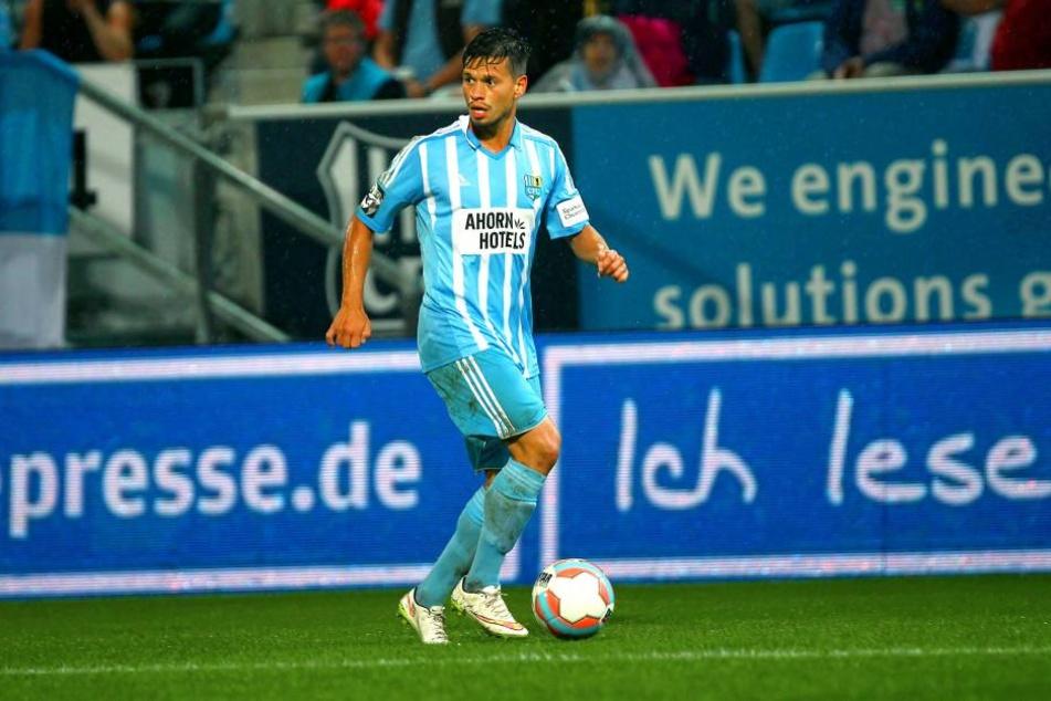 Stefano Cincotta stand beim Spiel gegen Wiesbaden nicht im Kader.