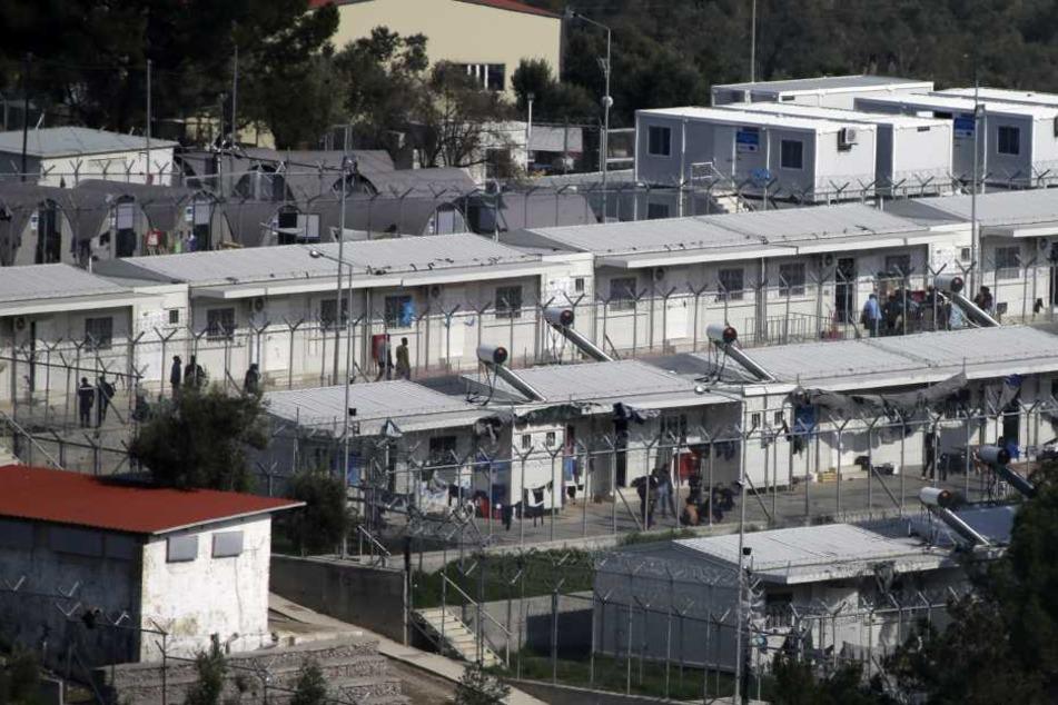 Die Migranten treten in Lesbos in Hungerstreik. (Symbolbild)