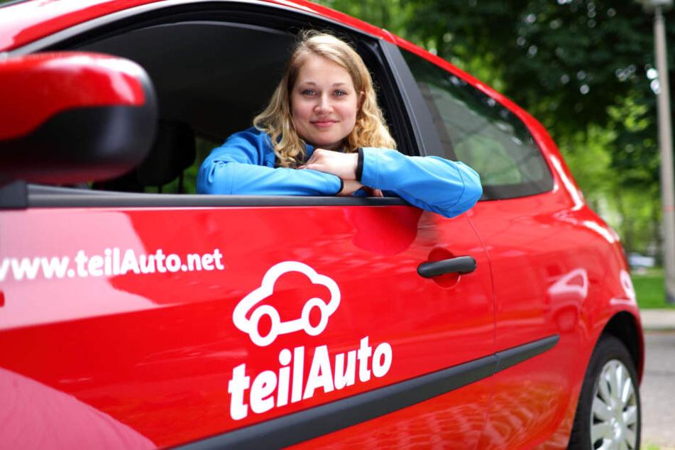 Carsharing liegt im Trend: Der Anbieter teilAuto konnte seine Nutzerzahl in Chemnitz von 2016 zu 2018 verdoppeln.