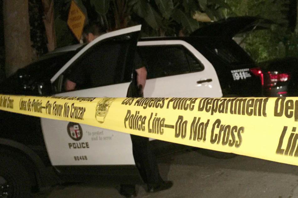 Die Polizei von Los Angeles hat das Gebiet abgeriegelt. (Symbolbild)