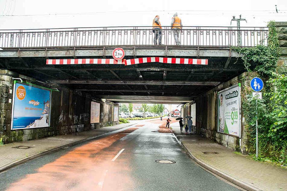 Diese Brücke wurde dem Lkw-Fahrer zum Verhängnis.