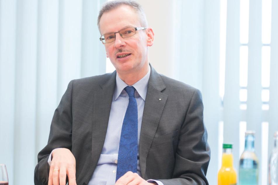 Rainer Striebel (54), einer der beiden AOK-Vorstände.