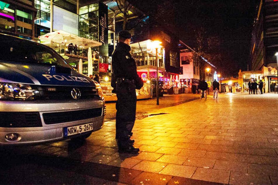 An Silvester wird der Boulevard in Bielefeld streng bewacht sein. Feuerwerk ist verboten!