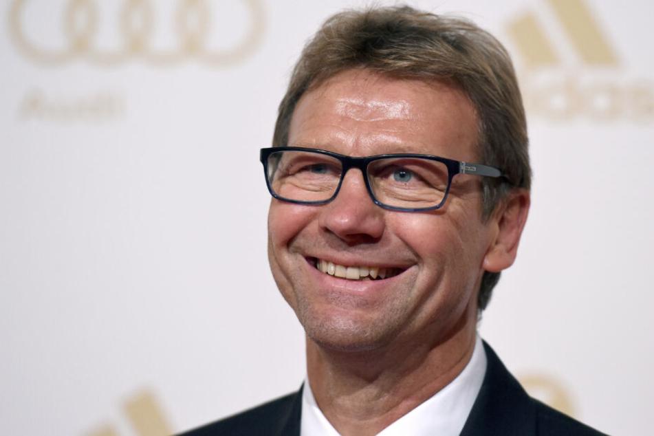 """""""Mit Jürgen kann ich mir im Fußball alles vorstellen"""", sagt Guido Buchwald."""