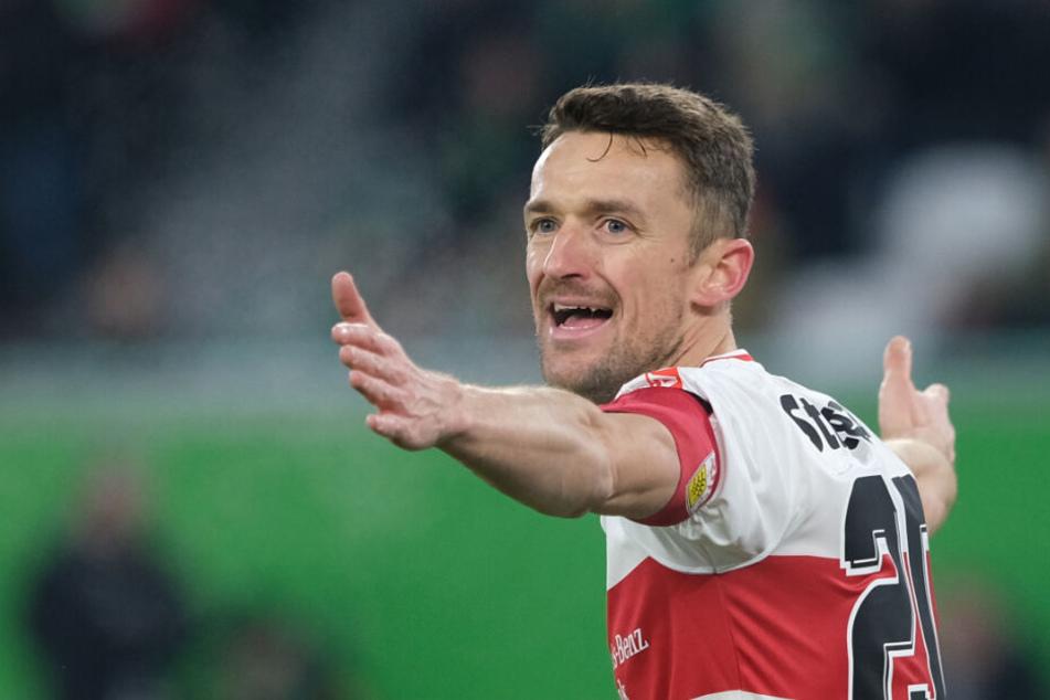 Christian Gentner (33) lief in 278 Bundesliga-Partien für den VfB Stuttgart auf.