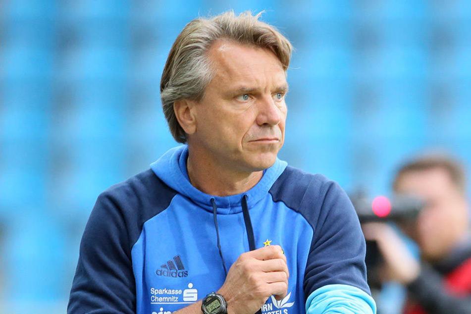 Horst Steffen hatte viel Lob für seinen Offensivmann Björn Kluft übrig.