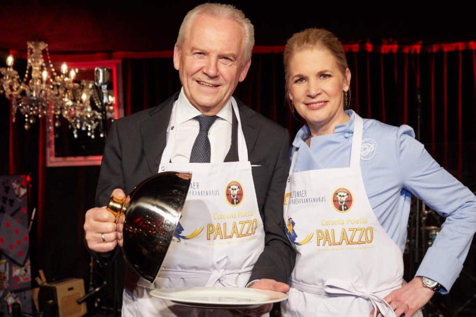 Rüdiger Grube und Cornelia Poletto zeigten sich gemeinsam bei einem Charity-Event.