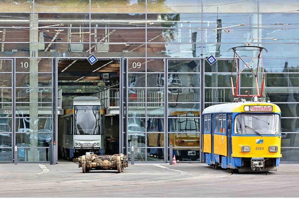 Die Instandhaltung der Tatra-Triebwagen kostet sehr viel Geld. (Archivbild)