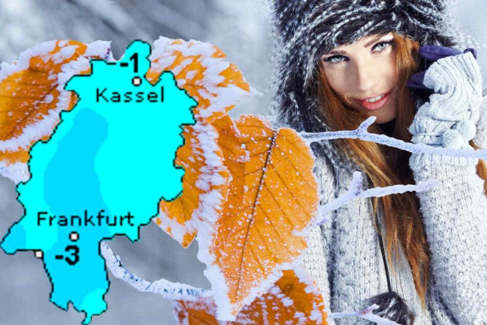 So kalt wird es heute in Frankfurt und ganz Hessen