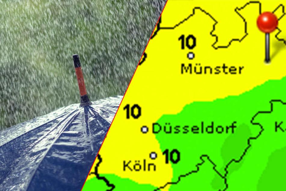 Warm, aber regnerisch: So sieht die zweite Wochenhälfte aus.