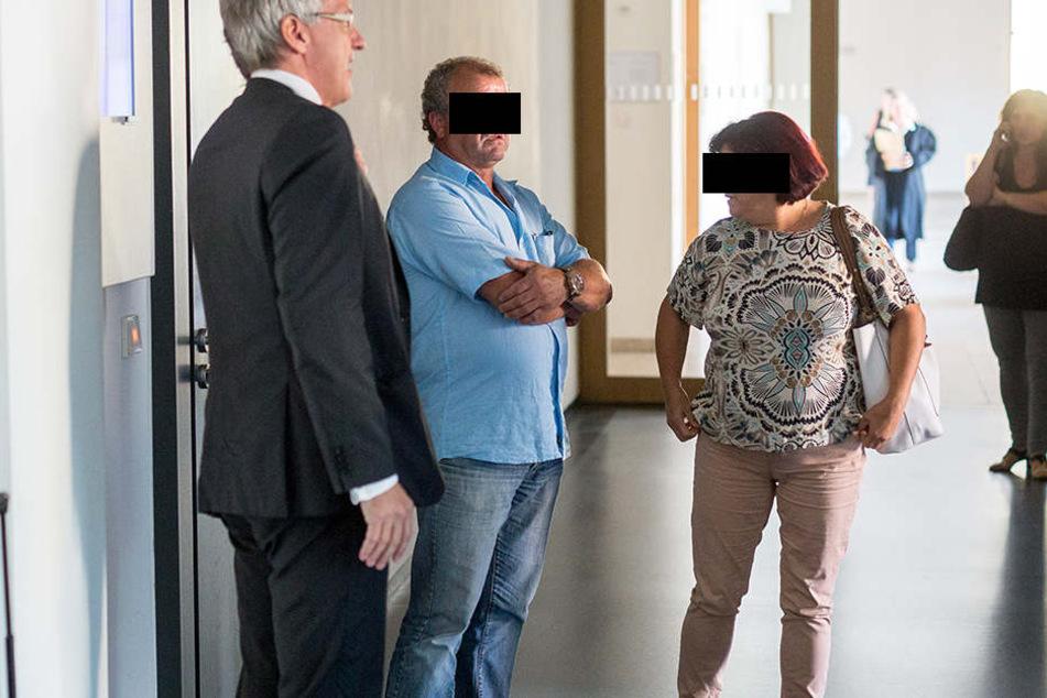 Das Unternehmerpärchen Amando (53) und Maria F. (56) musste sich am Mittwoch wegen Betrugs verantworten.