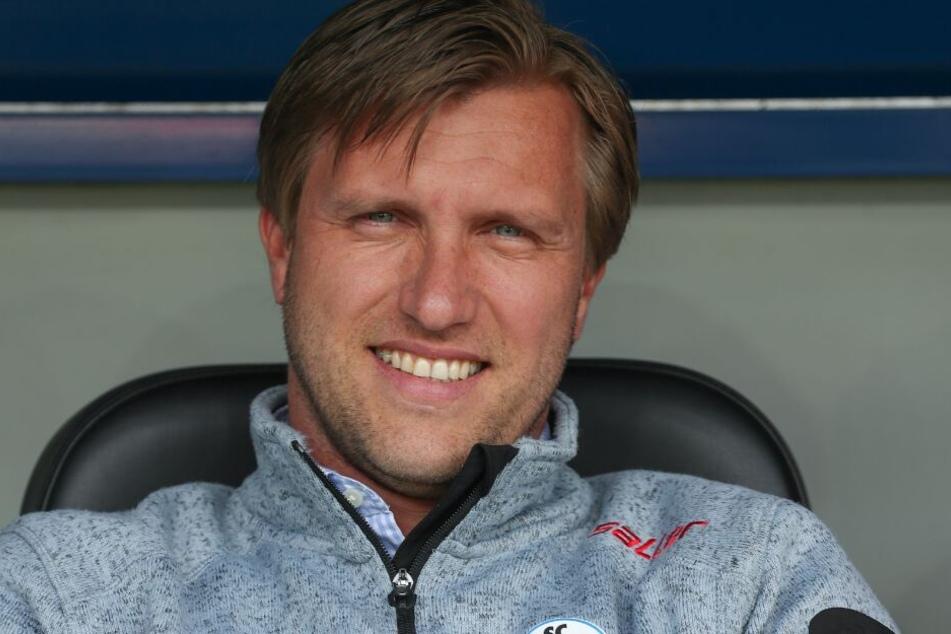 SCP-Manager Markus Krösche freut sich darüber Rifet Kapic unter Vertrag zu nehmen.