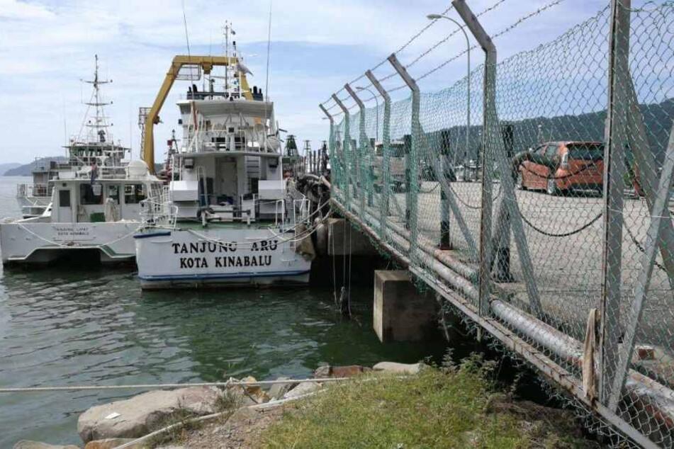 Das Boot war in Kota Kinabalu gestartet.