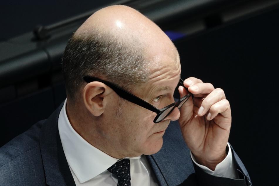 Vizekanzler Olaf Scholz (62, SPD).