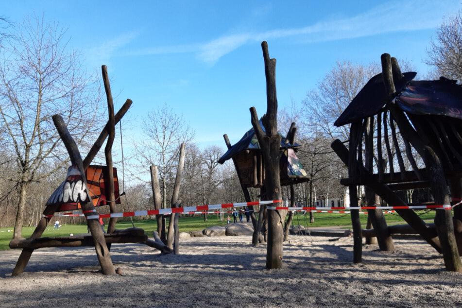 Kinder und Eltern aufgepasst: Heute öffnen in Leipzig wieder die Spielplätze!