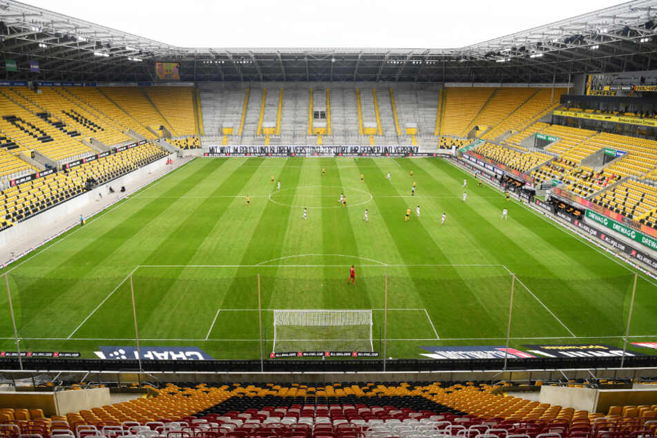 Ob das Rudolf-Harbig-Stadion wie geplant ausgebaut werden kann, ist fraglich.