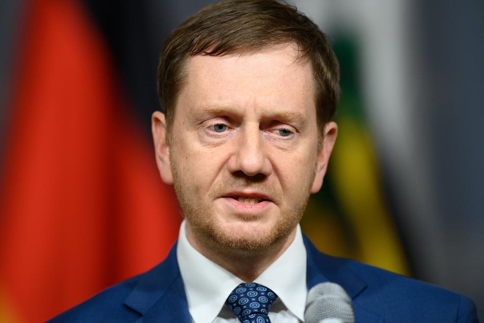 Will er von eigenem Versagen ablenken? Michael Kretschmer (45, CDU).