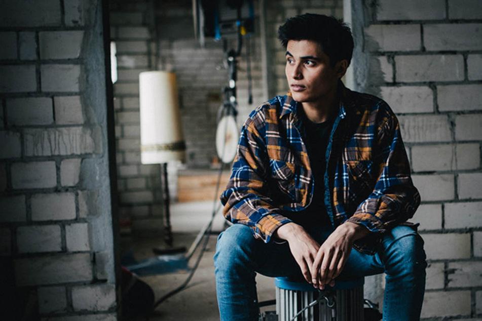 "Aaron Rufer (21) übernimmt die Rolle des ""Jamal Bakkoush""."