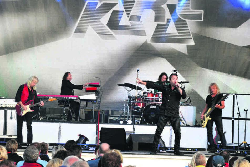 Die Kultband Karat spielt bei Radeberger auf.