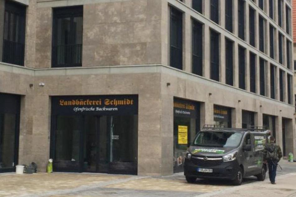 Hier entsteht gerade die neue Filiale an der Nürnberger Str. 36 in Dresden Südvorstadt.