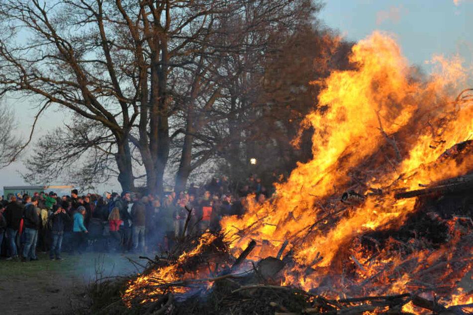 Chemnitz: Hexenfeuer finden statt!
