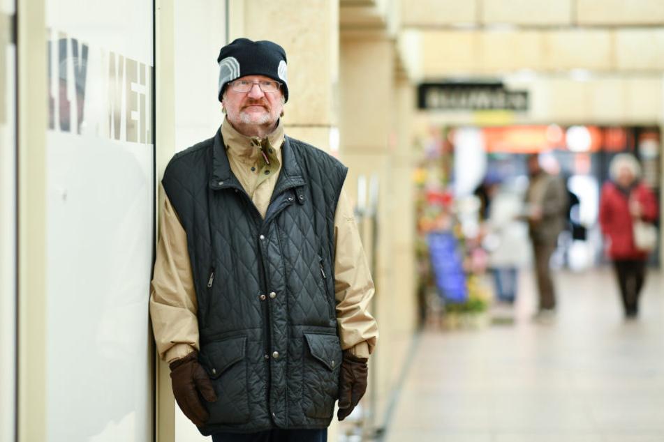 Richard Brox wurde in Mannheim geboren und lebt seit 30 Jahren auf der Straße.
