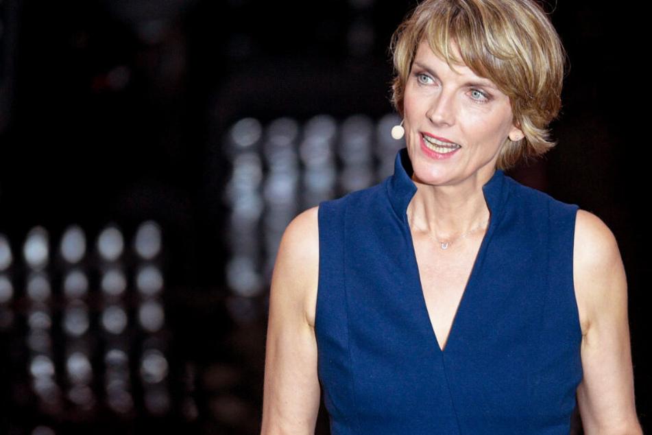 Das Foto aus dem September zeigt die Journalistin und ZDF-Moderatorin Marietta Slomka.