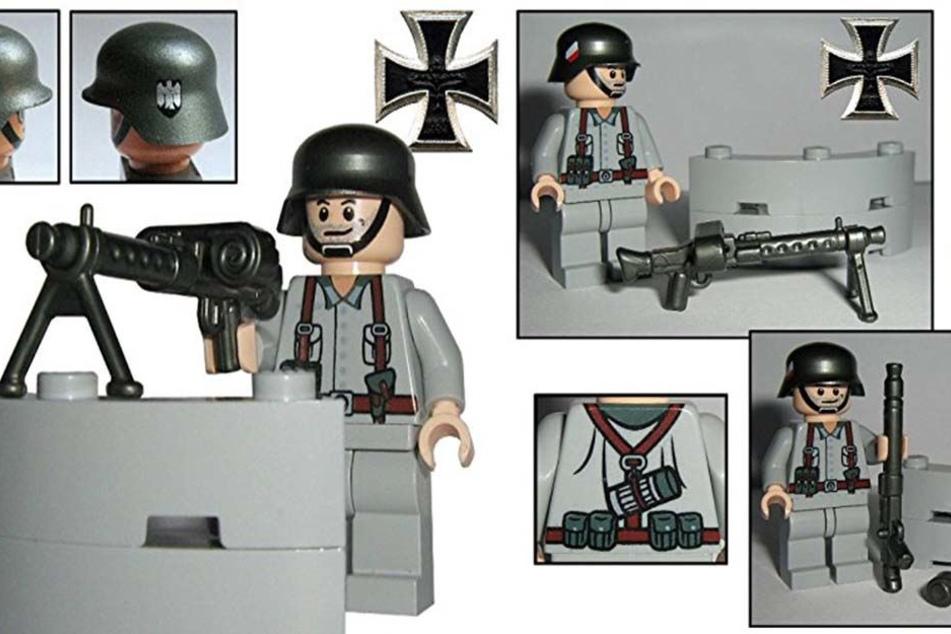 """Das """"Wehrmacht Soldat Heinz""""- Set wird für 13,90 Euro auf Amazon angeboten."""