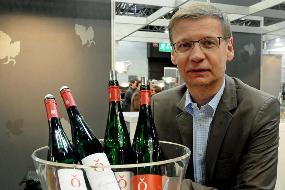 Aldi hat ab Montag zwei Weine von Günther Jauch im Sortiment. (Symbolbild)