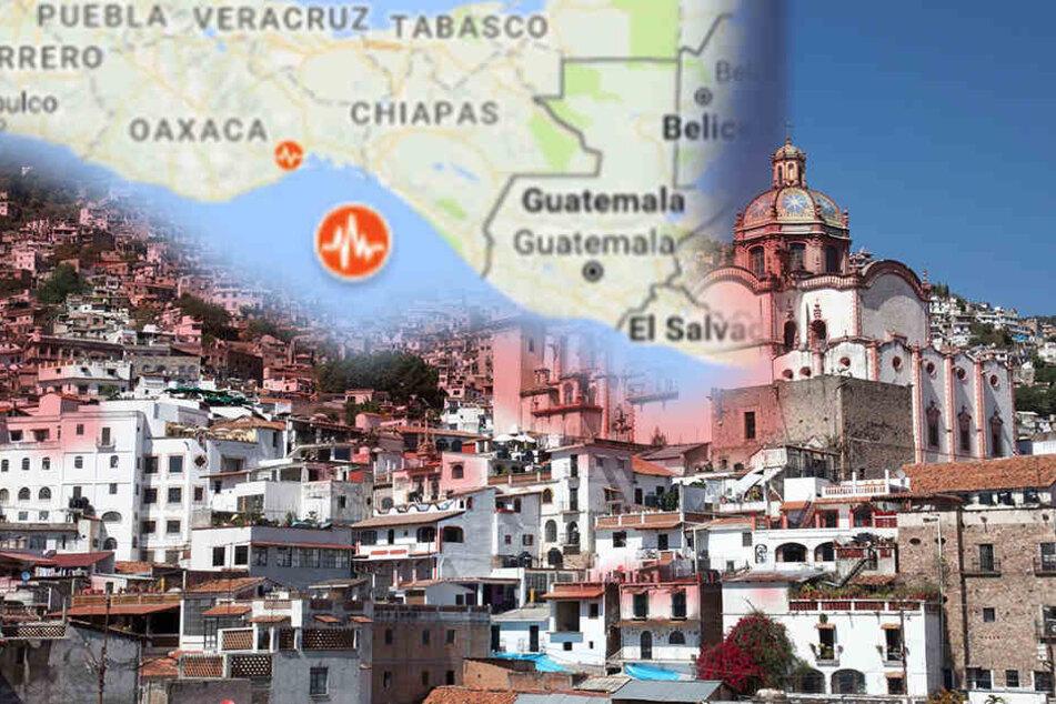 Vor der Küste Mexicos kam es am Freitagmorgen zu einem Erdbeben der Stärke 8,0.