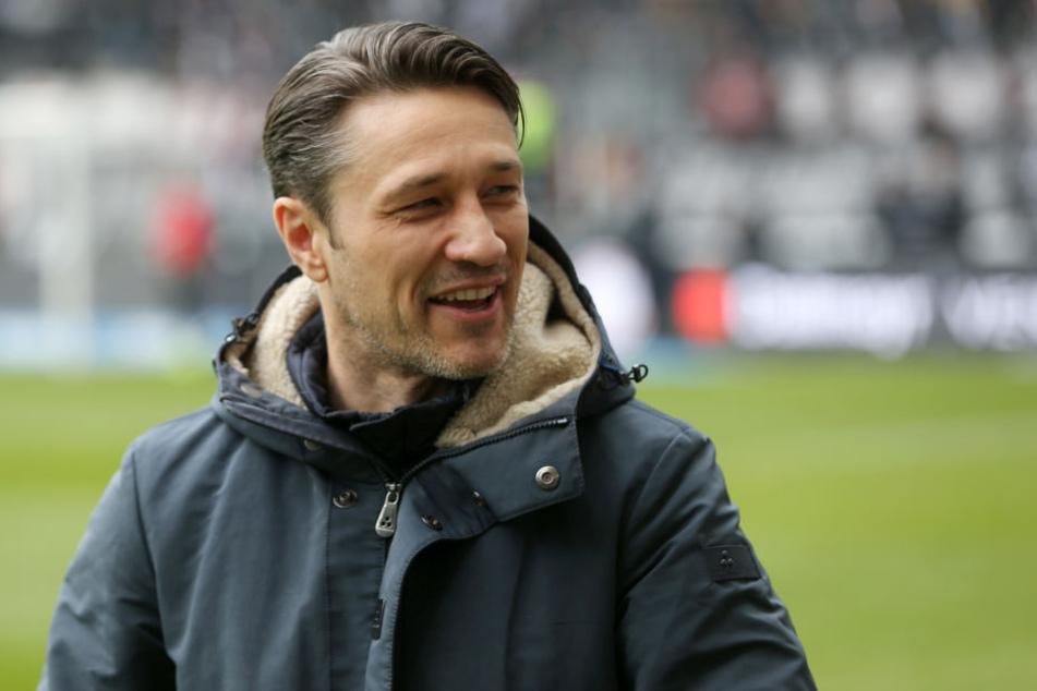 Hat gut lachen: Eintracht-Coach Niko Kovac blickt aktuell von den Champions League-Rängen auf den Rest der Tabelle herab.
