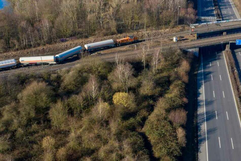 Gas-Güterzug entgleiste: Stadt entging nur knapp einer Katastrophe!