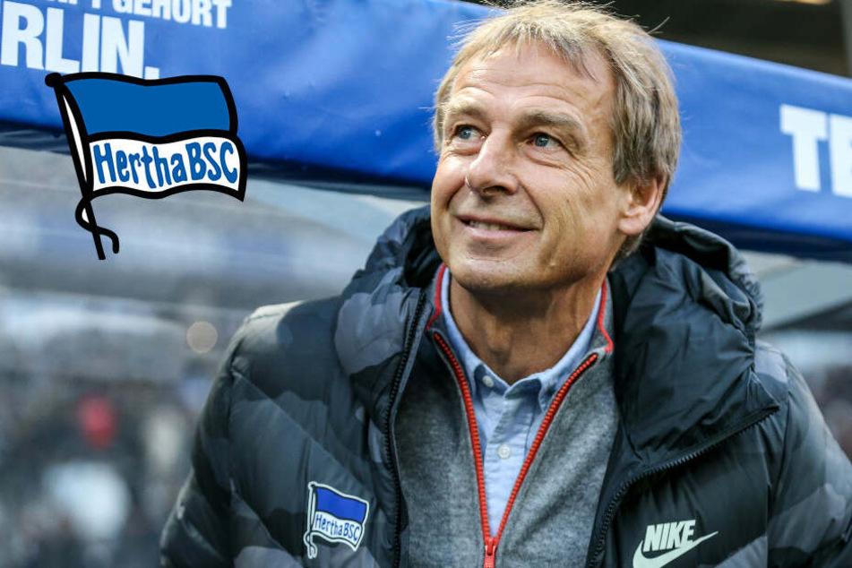 Herthas Rückründen-Ziel: Klinsmann will Pokalsieger werden!