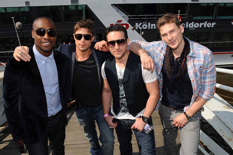 Blue 2011 beim Eurovision Song-Contest. Es war der Startschuss ihres Comebacks.