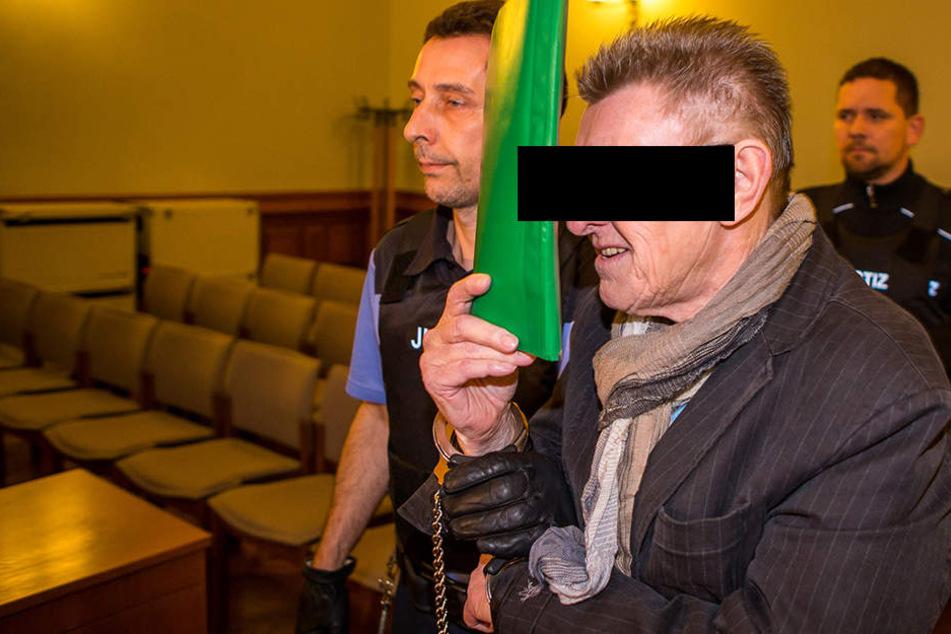 Verurteilt wegen Betruges in zwei Fällen: Finanzberater Wilfried Sch. (69) muss 3 Jahre und 10 Monate ins Gefängnis.