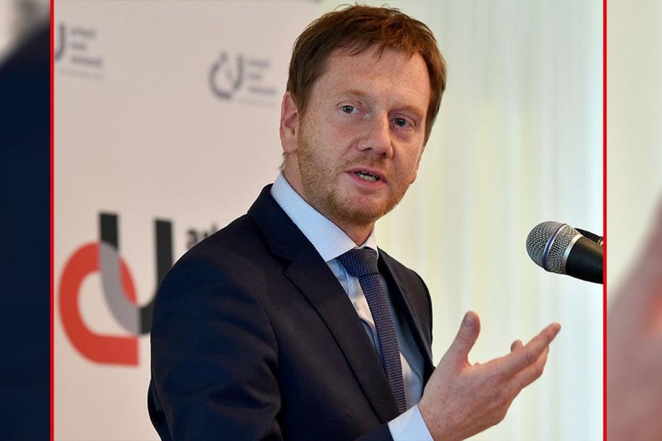 Sachsens Ministerpräsident Michael Kretschmer (43, CDU)