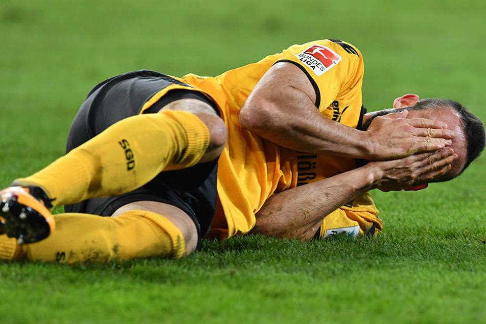 Fabian Müller musste seinen Platz in der Stammelf räumen.