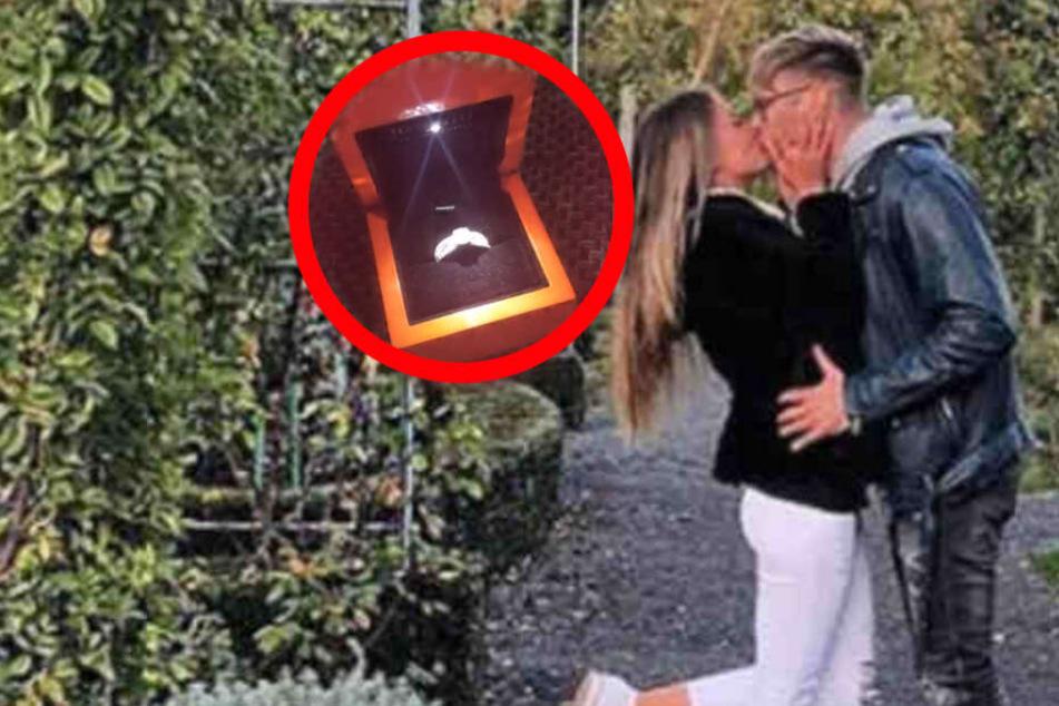 Ring aufgetaucht! Hat sich Nico Schwanz mit seiner Freundin Julia Prokopy verlobt?