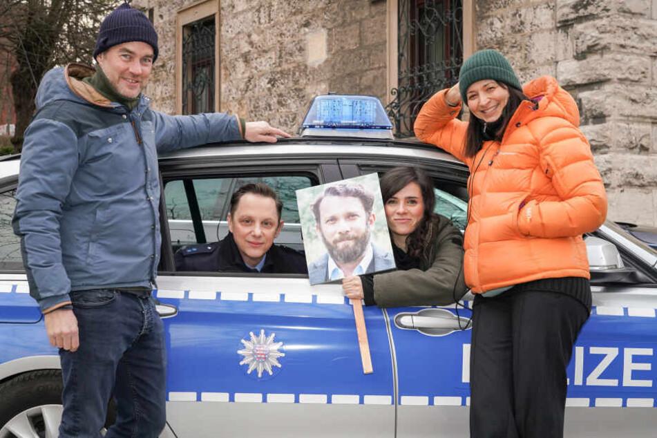 Mira Thiel (re.) übernimmt die Dreharbeiten für den neuen Tatort.