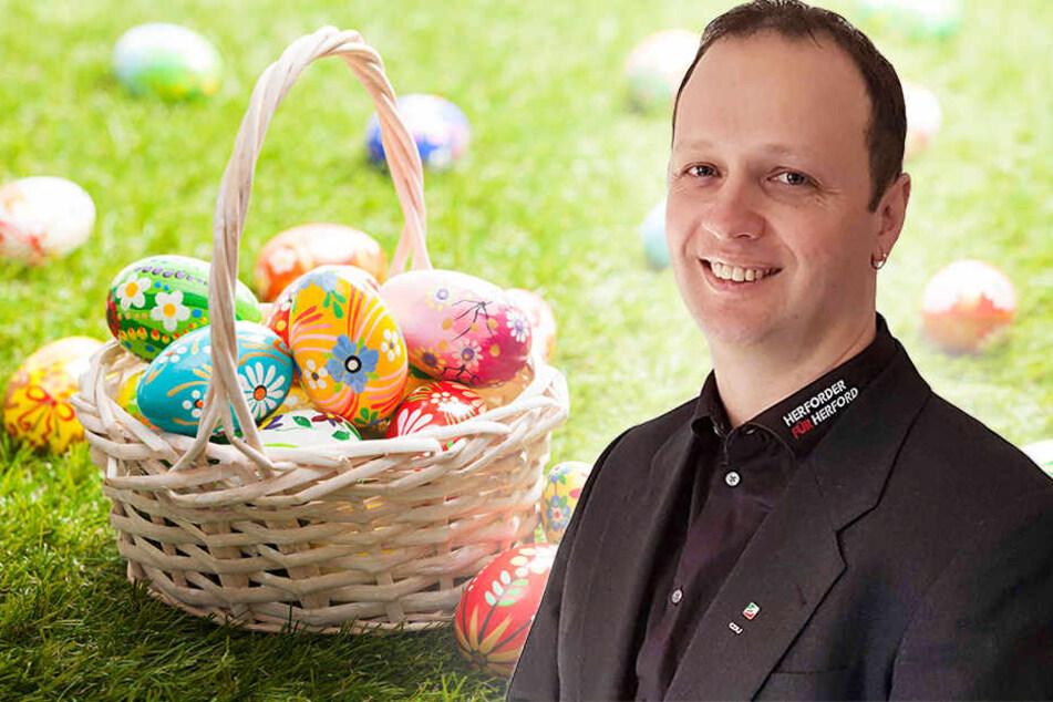 Dieser Herforder hat nicht nur zu Ostern ein Herz für Kinder