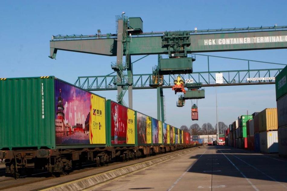 Der Güterzug aus China rollte bis nach Köln.